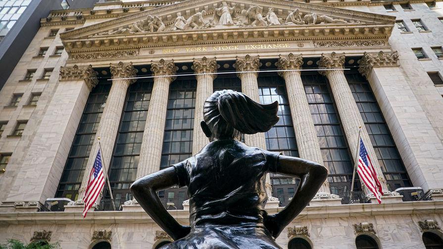 Биржи США упали на закрытии торгов