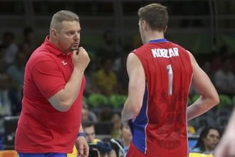 Первая осечка России в волейболе