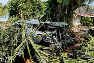 Последствия цунами в Индонезии, 24 декабря 2018 года