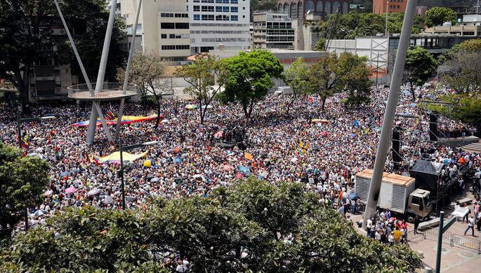 Гуайдо намерен ввести в Венесуэле режим ЧП