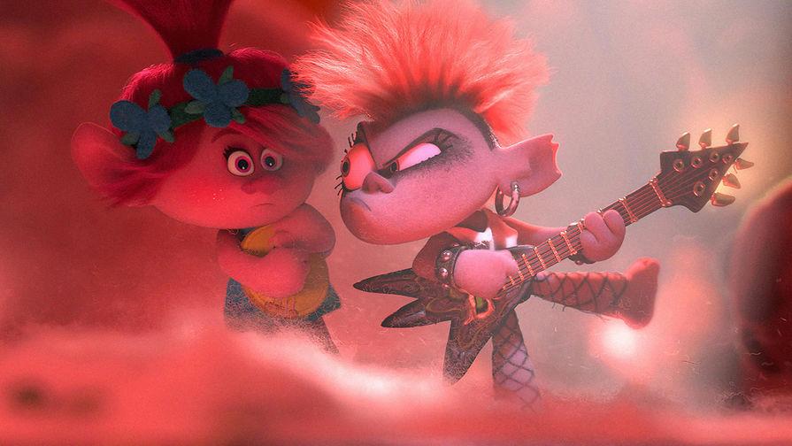 Кадр из мультфильма «Тролли 2» (2020)