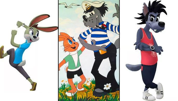 «Ну, погоди!»: как теперь будут выглядеть волк и заяц из мультфильма