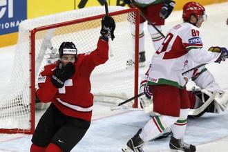 Белорусы не справились с командой Швейцарии