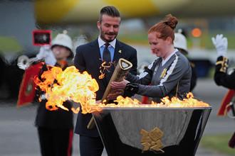 Дэвид Бекхэм примет участие в церемонии открытия Олимпиады в Лондоне
