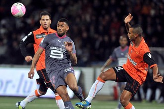 Вероятное приобретение «Рубина» Янн Мвила в матче чемпионата Франции прошлого сезона
