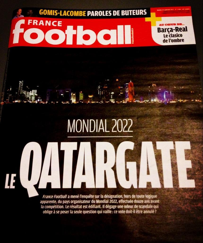 Обложка нашумевшего номера France Football