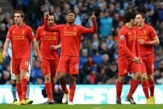 Даниэль Старридж, забивший один из голов в последнем матче «Ливерпуля» с «Манчестер Сити»