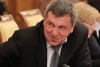 Глава Министерства регионального развития Игорь Слюняев