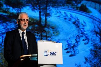 Новый президент UCI Брайан Куксон