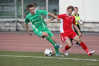 ФК «Уфа» разгромила на своем поле «Томь», став фаворитом в борьбе за путевку в Премьер-лигу
