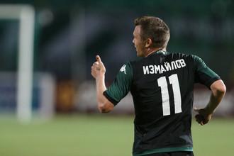 Марат Измайлов отмечает дебютный гол за «Краснодар»
