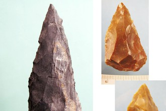 Орудия неандертальцев из Мезмайской пещеры.