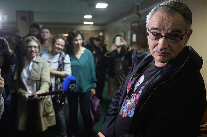 Блогер Антон Носик в Пресненском суде Москвы