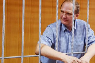 Бывший первый заместитель главы МЧС России генерал-полковник Сергей Шляков в Тверском суде Москвы, 26 июля 2018 года