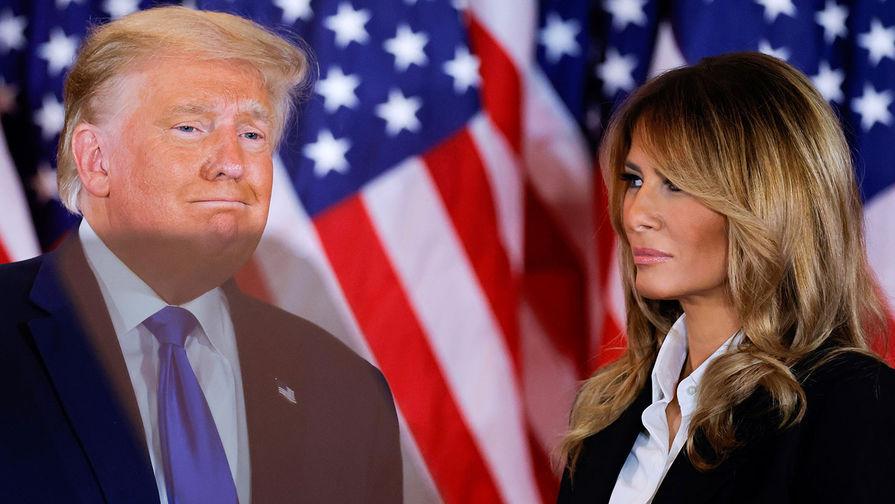 Меланья Трамп задумалась о разводе после результатов выборов