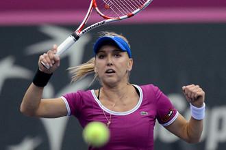 Елена Веснина вышла в третий круг турнира в Индиан-Уэллсе