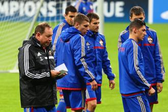 Леонид Слуцкий и его подопечные очень серьезно готовятся к «Баварии»