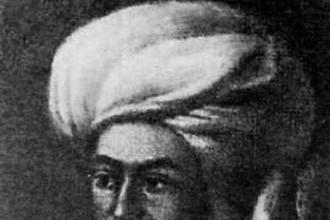 Ян Виткевич в восточном наряде
