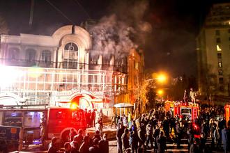 Погром посольства Саудовской Аравии в Тегеране