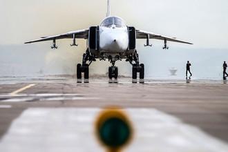 Аэродром авиабазы Хмеймим в Латакии