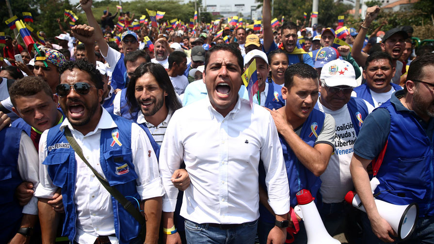 Россия, Индия и Китай выступили против военного сценария в Венесуэле