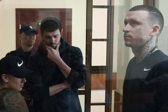 Футболисты Павел Мамаев, Александр Протасовицкий и Кирилл Кокорин