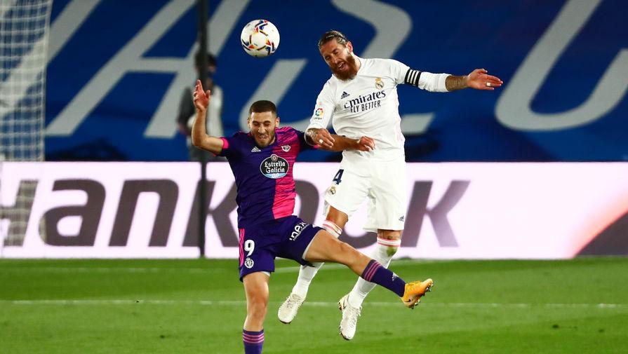 Эпизод матча «Реал» — «Вальядолид»