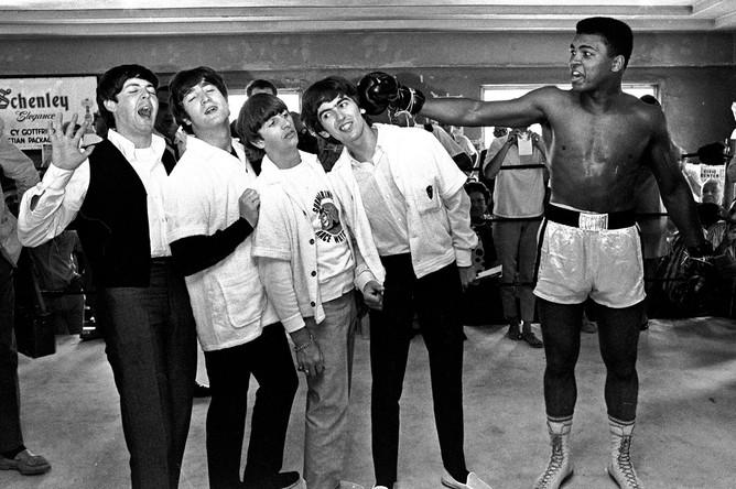 Мохаммед Али и группа Beatles, 1964 год