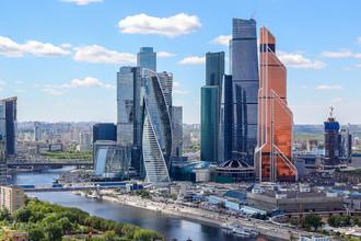 Деловой центр «Москва-Сити», май 2017 года