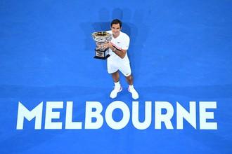 Роджер Федерер — победитель Australian Open — 2018