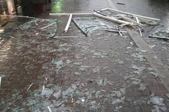 Последствия ураганного ветра в Москве, 21 апреля 2018