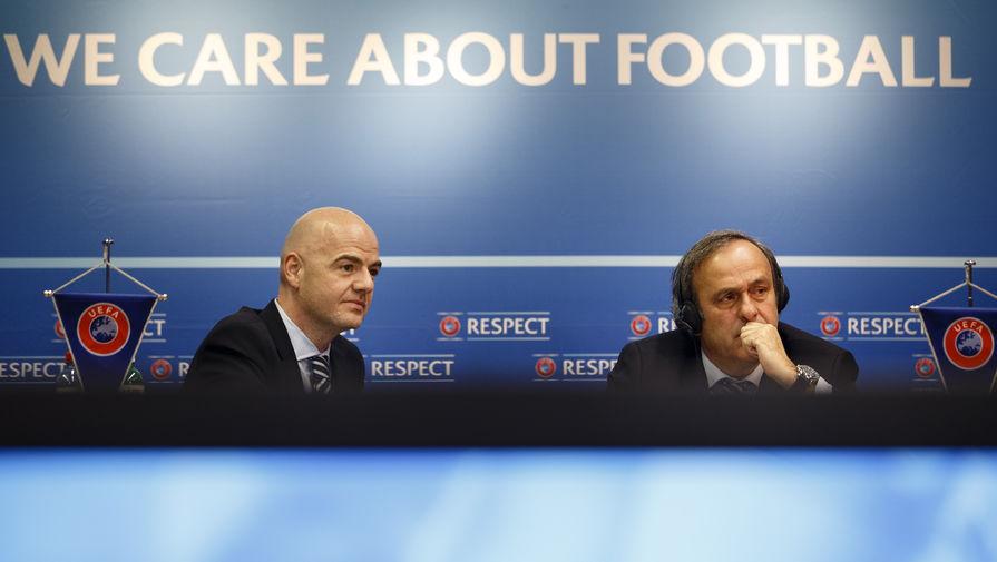 """СМИ: УЕФА покрывал финансовые махинации """"ПСЖ"""" и """"Манчестер Сити"""""""