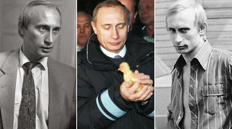 Путин - 20 години на власт! Редки снимки на Владимир Путин, преди и по време на управлението