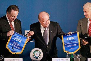 Пока Виталий Мутко и Сергей Фурсенко равноудалены от президента ФИФА Зеппа Блаттера