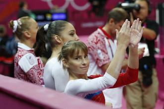 Российские гимнасты успешно выступают на лондонской Олимпиаде