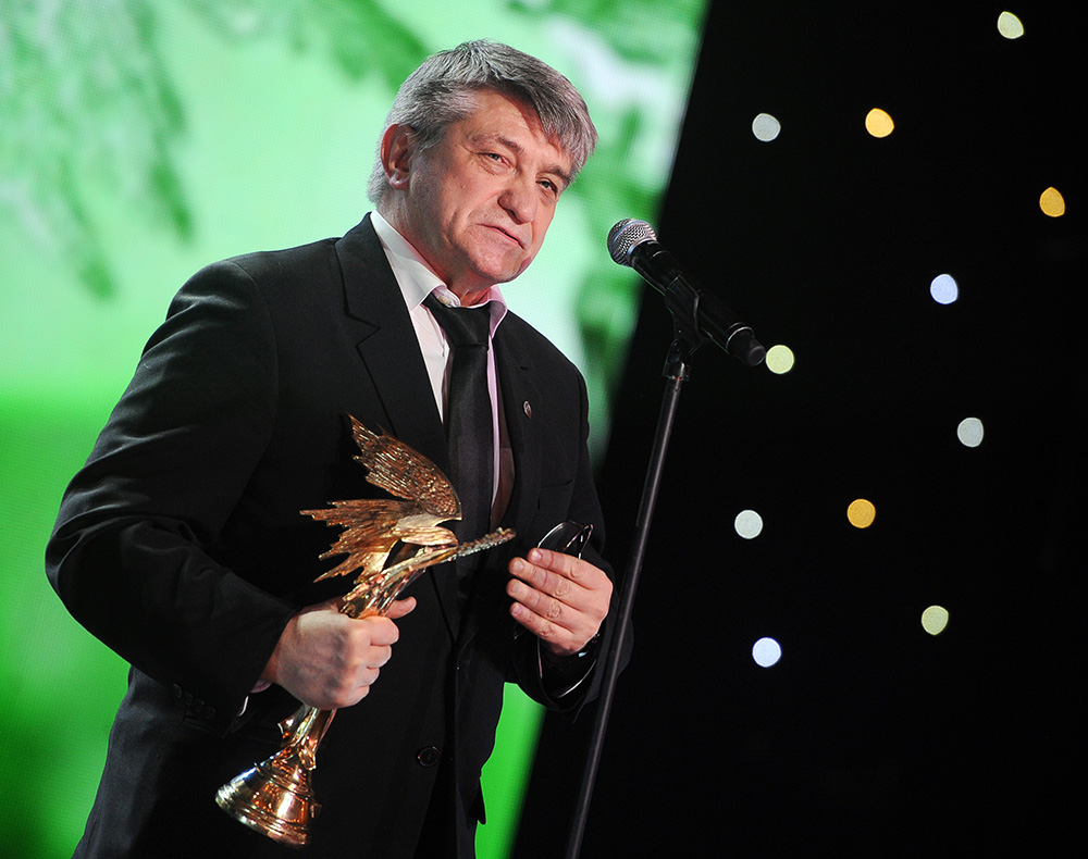 Режиссер Александр Сокуров получивший премию в номинации Лучший режиссер за фильм Фауст