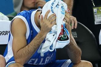Сборная Греции не пробилась в плей-офф Евробаскета-2013