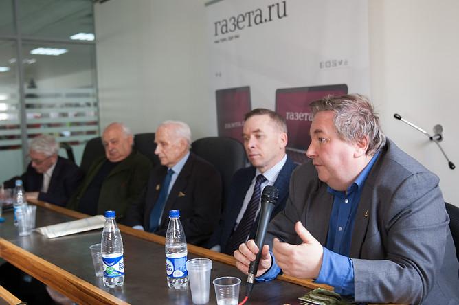 Участники «круглого стола» в «Газете.Ru»