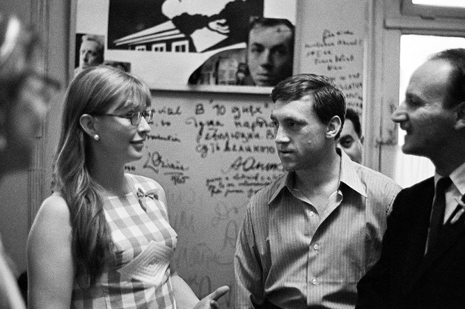 Владимир Высоцкий и Марина Влади, 1971 год