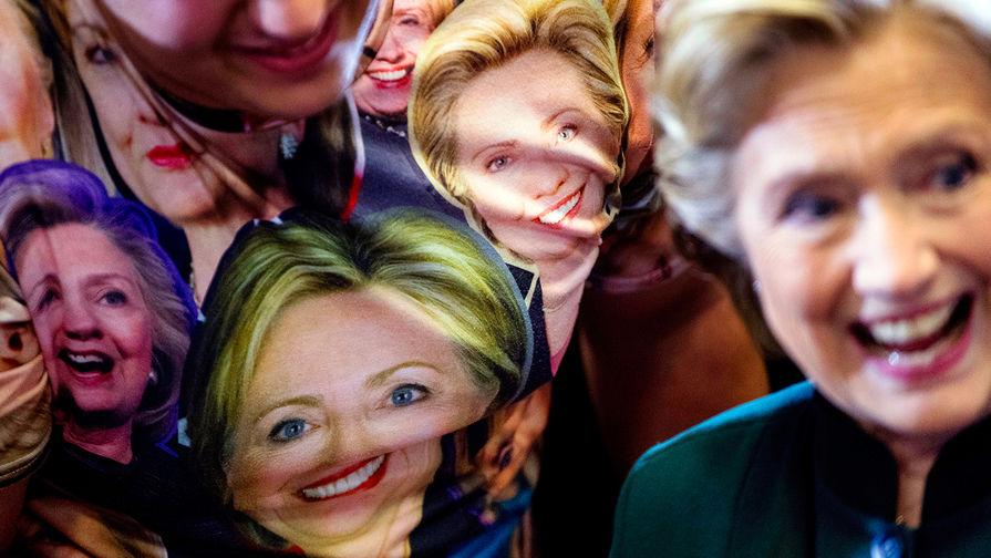 Лесбиянка хиллари клинтон