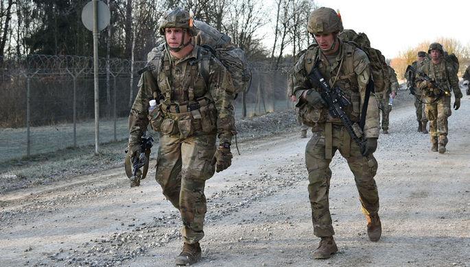 Военнослужащие США в Германии