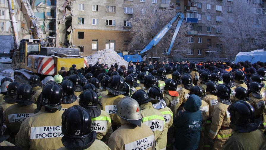 В Магнитогорске начали демонтаж поврежденных при взрыве подъездов