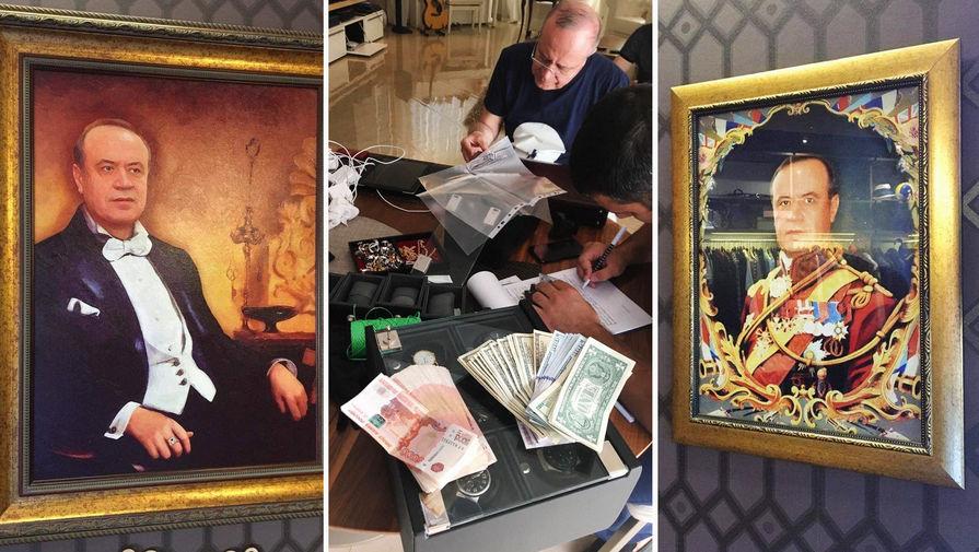 У замгубернатора при обыске в Ростове обнаружены необычные картины