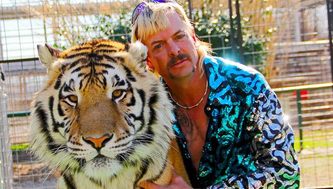 Кадр из сериала «Король тигров: Убийство, хаос и безумие»