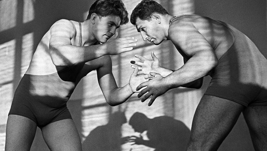 Александр Иваницкий (справа), 1963 год