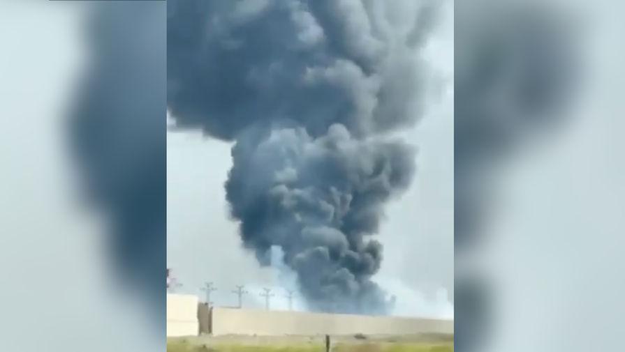 Около аэропорта Багдада загорелась военная база с войсками США