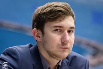 Сергей Карякин потерпел второе поражение на шахматном супертурнире в Вейк-ан-Зее