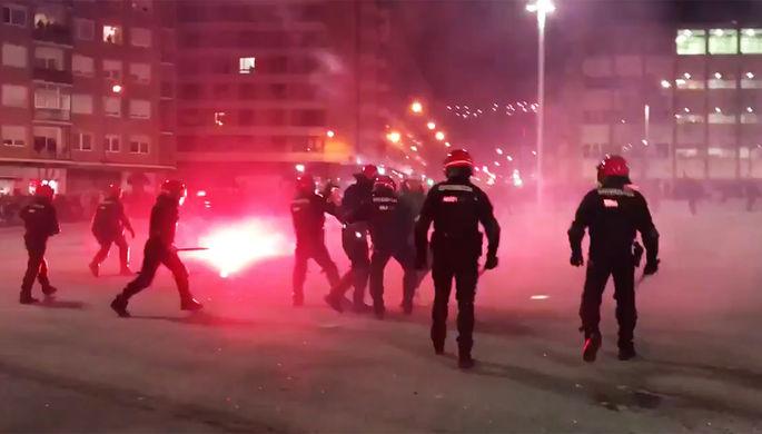 Полиция Бильбао назвала причину смерти сотрудника в день матча «Спартака»