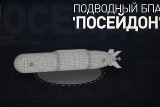 Подводный беспилотник «Посейдон» (кадр из видео)