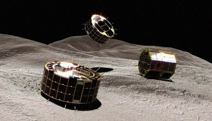 Японский зонд «Хаябуса-2» собрал грунт на астероиде Рюгу и улетел
